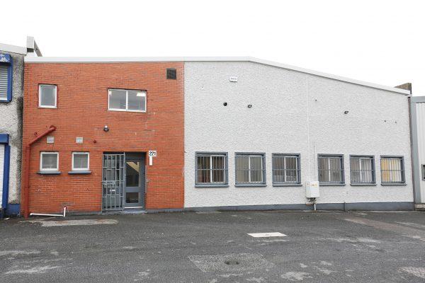 Unit 221 Holly Road, Western Industrial Estate, Dublin 12.